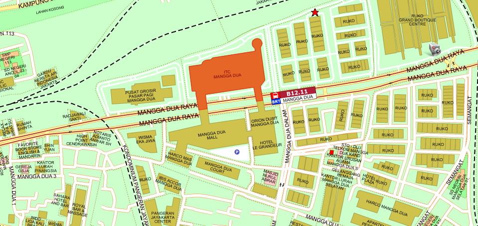 Manggadua Indonesia  city images : ITC Mangga Dua Mall beralamat di Jl. Mangga Dua Raya, Mangga Dua Utara ...
